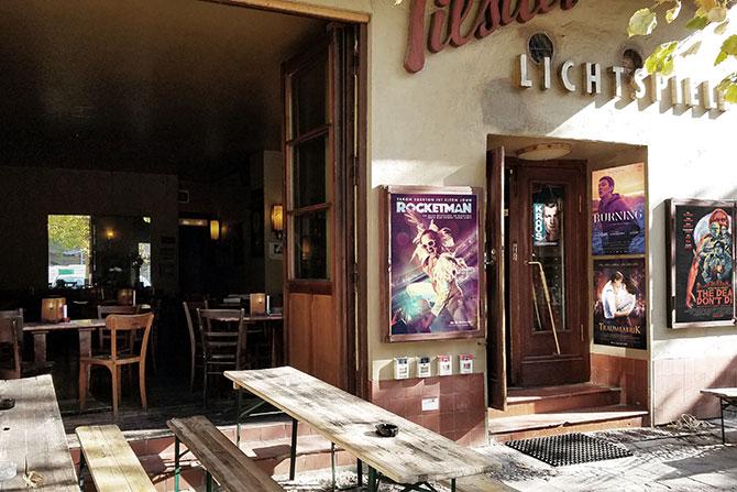 Kinos und Freiluftkino in Friedrichshain | Berlin
