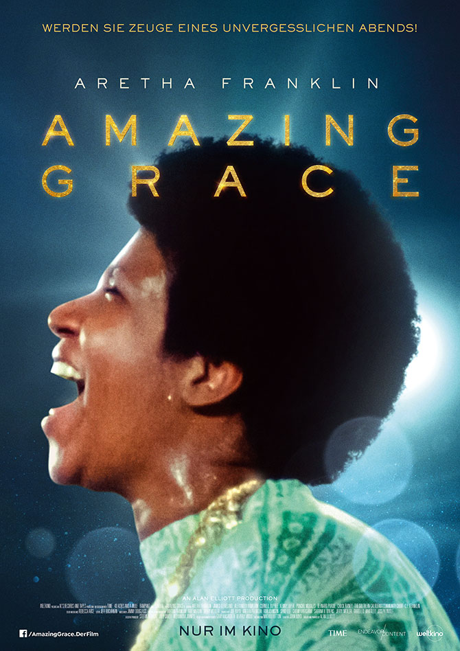 Aretha Franklin Amazing Grace Film Poster